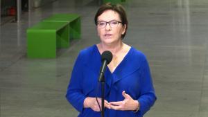 Premier Ewa Kopacz Miliardy dla Warszawy na nowe inwestycje fot. ŚWIECZAK