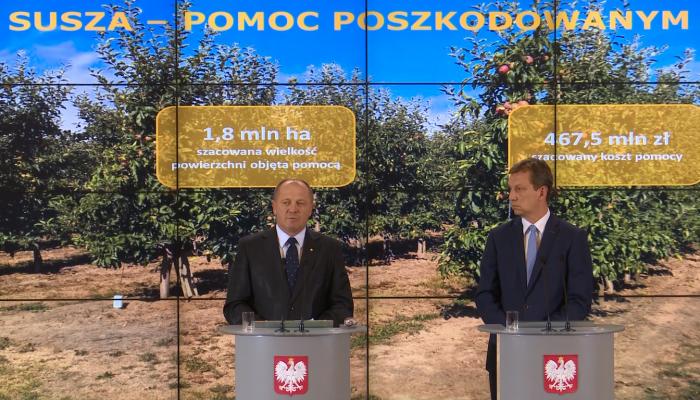 488 mln zł na pomoc dla rolników dotkniętych suszą fot. ŚWIECZAK