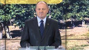 Marek Sawicki Minister Rolnictwa Rząd przeznaczy 488 mln zł na pomoc dla rolników dotkniętych suszą fot. ŚWIECZAK