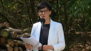 Dorota Niedziela Wiceminister środowiska Premier zapowiada nowelizację ustawy o Lasach Państwowych fot. ŚWIECZAK