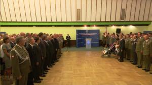 Tomasz Siemoniak wręczył wyróżnienia i medale resortowe z okazji święta Wojska Polskiego. fot. ŚWIECZAK