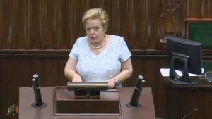 Prezes Sądu Najwyższego Małgorzata Gersdorf Sejm fot. ŚWIECZAK