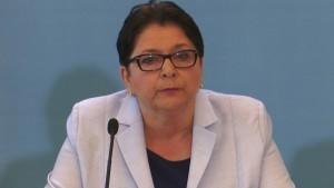 Teresa Piotrowska Minister Spraw Wewnętrznych Podwyżki dla policjantów i żołnierzy od 2016 roku fot. ŚWIECZAK