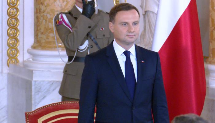 Prezydent Duda wnioskuje o drugie referendum w dniu wyborów parlamentarnych fot. ŚWIECZAK