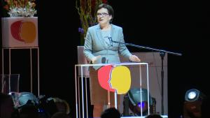 Premier Ewa Kopacz VII Kongres Kobiet fot. ŚWIECZAK