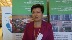 Hanna Gronkiewicz-Waltz, Prezydent m.st. Warszawy 30-lecie Europejskiej Karty Samorządu Lokalnego fot. ŚWIECZAK