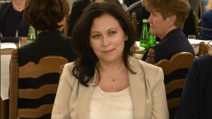 prof. dr hab. n. prawn. Dorota Karkowska kierownik Podyplomowego Studium Prawa Medycznego Uniwersytetu Łódzkiego Debata o leczeniu bólu w Polsce fot. ŚWIECZAK