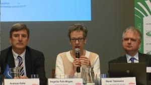 Angelika Poth-Mogele Dyrektor wykonawczy d.s Europejskich, Rada Gmin i Regionów Europy (CEMR) 30-lecie Europejskiej Karty Samorządu Lokalnego fot. ŚWIECZAK