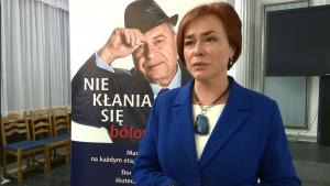 poseł dr Lidia Gądek Przewodnicząca Parlamentarnego Zespołu ds. Podstawowej Opieki Zdrowotnej i Profilaktyki fot. ŚWIECZAK