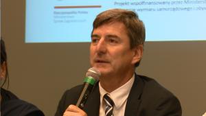 Andreas Kiefer Sekretarz Generalny CLRAE 30-lecie Europejskiej Karty Samorządu Lokalnego fot. ŚWIECZAK