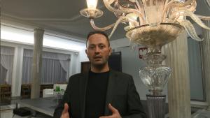 """Szymon Chrostowski – prezes Fundacji Wygrajmy Zdrowie i Koalicji na Rzecz Walki z Bólem """"Wygrajmy z bólem"""" Debata o leczeniu bólu w Polsce fot. ŚWIECZAK"""