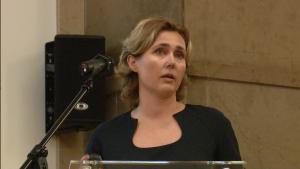 Mgr. Ewa Domke, Biuro Obsługi Projektów Badawczych III spotkanie grupy roboczej ds. OZE i efektywności energetycznej wokół Platformy Zrównoważona Energia fot. ŚWIECZAK