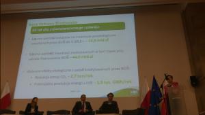 Anna Żyła Bank Ochrony Środowiska III spotkanie grupy roboczej ds. OZE i efektywności energetycznej wokół Platformy Zrównoważona Energia fot. ŚWIECZAK