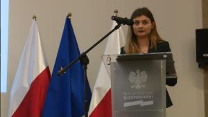 Paulina Piekut R&D and Government Incentives Deloitte III spotkanie grupy roboczej ds. OZE i efektywności energetycznej wokół Platformy Zrównoważona Energia fot. ŚWIECZAK