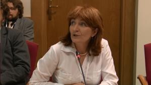 Jacqueline Kacprzak Departament Innowacji i Przemysłu MG Programy dla zmiany - konferencja konsultacyjna programu współpracy MG z organizacjami pozarządowymi na rok 2016 fot.ŚWIECZAK