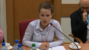 Agnieszka Siarkiewicz Forum Odpowiedzialnego Biznesu Programy dla zmiany - konferencja konsultacyjna programu współpracy MG z organizacjami pozarządowymi na rok 2016 fot.ŚWIECZAK