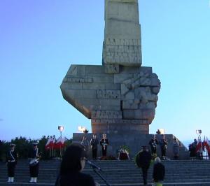 Westerplatte - 76. rocznica wybuchu II Wojny Światowej fot.ŚWIECZAK