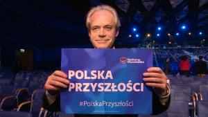 Adam Szejnfeld Poseł do PE VIII kadencji Konwencja PO w Poznaniu. Zlikwidujemy składkę ZUS i NFZ fot. ŚWIECZAK