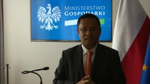 Saleh Husin minister przemysłu Indonezji Perspektywy rozwoju polsko-indonezyjskiej współpracy gospodarczej fot. ŚWIECZAK