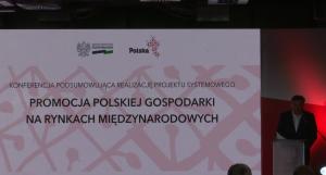 """Janusz Piechociński, Wicepremier, Minister Gospodarki Konferencja: Promocja polskiej gospodarki na rynkach międzynarodowych"""" w ramach """"Dnia Przedsiębiorcy"""" fot. ŚWIECZAK"""