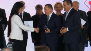 """Konferencja: Promocja polskiej gospodarki na rynkach międzynarodowych"""" w ramach """"Dnia Przedsiębiorcy"""" fot. ŚWIECZAK"""