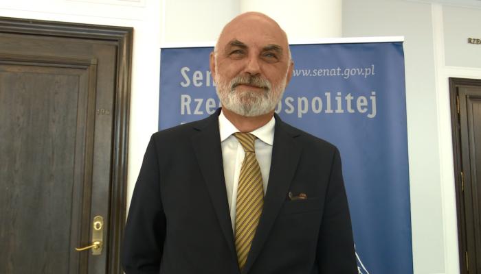 Abgarowicz Łukasz, Senator o referendum 6 września  fot. ŚWIECZAK