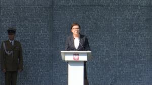 Premier Ewa Kopacz Uroczystość oficjalnego otwarcia Muzeum Katyńskiego fot. ŚWIECZAK