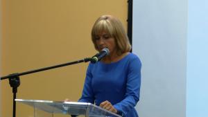dr hab. Magdalena Sitek, prof.WSGE III Forum Gospodarcze Powiatu Otwockiego fot.ŚWIECZAK