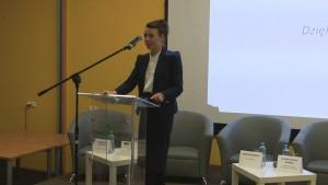 Dr Małgorzata Such-Pyrgiel Dziekan Wydziału Nauk Społecznych WSGE III Forum Gospodarcze Powiatu Otwockiego fot.ŚWIECZAK