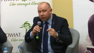 Bogusław Andrzej Ulijasz Wiceminister Sportu i Turystyki III Forum Gospodarcze Powiatu Otwockiego fot.ŚWIECZAK