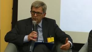 prof. dr hab. Bronisław Sitek WSGE w Józefowie III Forum Gospodarcze Powiatu Otwockiego fot.ŚWIECZAK
