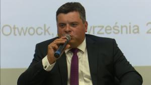 Paweł Rupniewski Wicestarosta Otwocki III Forum Gospodarcze Powiatu Otwockiego fot.ŚWIECZAK