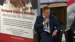 Krzysztof Krystowski, Prezes Zarządu Związku Pracodawców Klastry Polskie III Kongres Klastrów Polskich fot. ŚWIECZAK