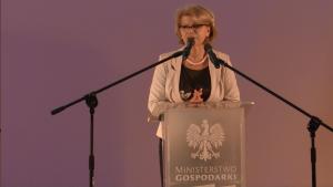 Grażynę Henclewską podsekretarz stanu w Ministerstwie Gospodarki Europejska Motoryzacja – cele, wyzwania, możliwości fot. ŚWIECZAK