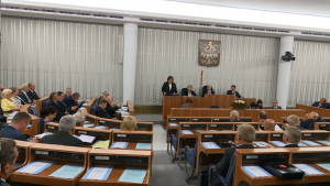 Referendum 25 października - burzliwa debata w senacie 2-go września fot.ŚWIECZAK