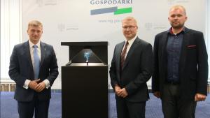 Procesor D32PRO – premiera w Ministerstwie Gospodarki fot. ŚWIECZAK