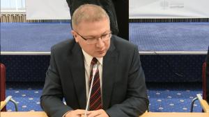 Jacek Henke Prezes Zarządu DCD Procesor D32PRO – premiera w Ministerstwie Gospodarki fot. ŚWIECZAK