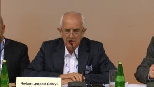 Hubert Leopold Gabryś Przewodniczący Komitetu ds. Polityki Klimatyczno-Energetycznej KIG XIII Międzynarodowa Konferencja Nafta-Gaz-Chemia 2015 Fot.ŚWIECZAK