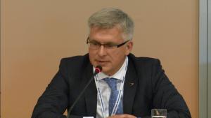 Marek Kapłucha, Wiceprezes Zarządu Gupa Azoty S.A. XIII Międzynarodowa Konferencja Nafta-Gaz-Chemia 2015 Fot.ŚWIECZAK