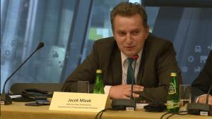 Jacek Miziak Dyrektor departamentu Zrównoważonego Rozwoju , Ministerstwo Środowiska XIII Międzynarodowa Konferencja Nafta-Gaz-Chemia 2015 Fot. ŚWIECZAK
