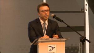 Mikołaj Goss Partner w Kancelarii Góralski & Goss Legal XIII Międzynarodowa Konferencja Nafta-Gaz-Chemia 2015 Fot. ŚWIECZAK