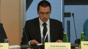 Pawel Zamyslicky dyrektor Departament Energii i Ochrony Klimatu Ministerstwo Środowiska Republika Czeska XIII Międzynarodowa Konferencja Nafta-Gaz-Chemia 2015 Fot. ŚWIECZAK