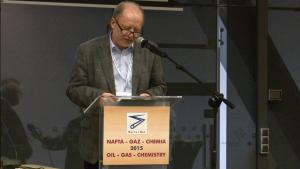 Andrzej Szczęśniak Niezależny Eksport Rynku Paliw XIII Międzynarodowa Konferencja Nafta-Gaz-Chemia 2015 Fot. ŚWIECZAK