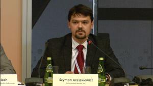 Szymon Araszkiewicz Dyrektor Działu Konsultingu - Information Market S.A. XIII Międzynarodowa Konferencja Nafta-Gaz-Chemia 2015 Fot. ŚWIECZAK