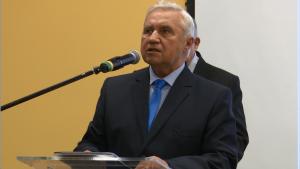 dr Tadeusz Graca JM Rektor WSGE III Forum Gospodarcze Powiatu Otwockiego fot.ŚWIECZAK