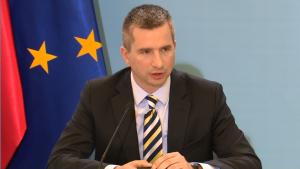 Mateusz Szczurek Minister finansów Rząd przyjął wstępnie projekt budżetu na 2016 rok fot.ŚWIECZAK
