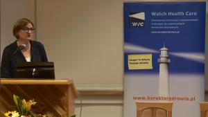 Prof. nadzw. NIL dr hab. n. med. Anna Skoczyńska Innowacje w systemie szczepień ochronnych – obraz Polski na tle Europy w dostępie do szczepień fot. ŚWIECZAK