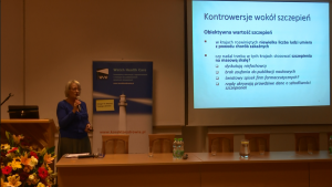 Dr n med. Hanna Czajka Innowacje w systemie szczepień ochronnych – obraz Polski na tle Europy w dostępie do szczepień fot. ŚWIECZAK