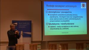 Dr n med. Paweł Grzesiowski Innowacje w systemie szczepień ochronnych – obraz Polski na tle Europy w dostępie do szczepień fot. ŚWIECZAK