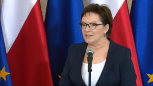 Ewa Kopacz Prezes Rady Ministrów Medaliści z MŚ w Pekinie u premier Kopacz fot. ŚWIECZAK